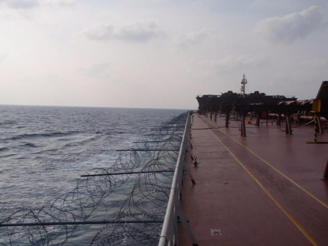 אונייה ממוגנת כנגד מתקפת פיראטים