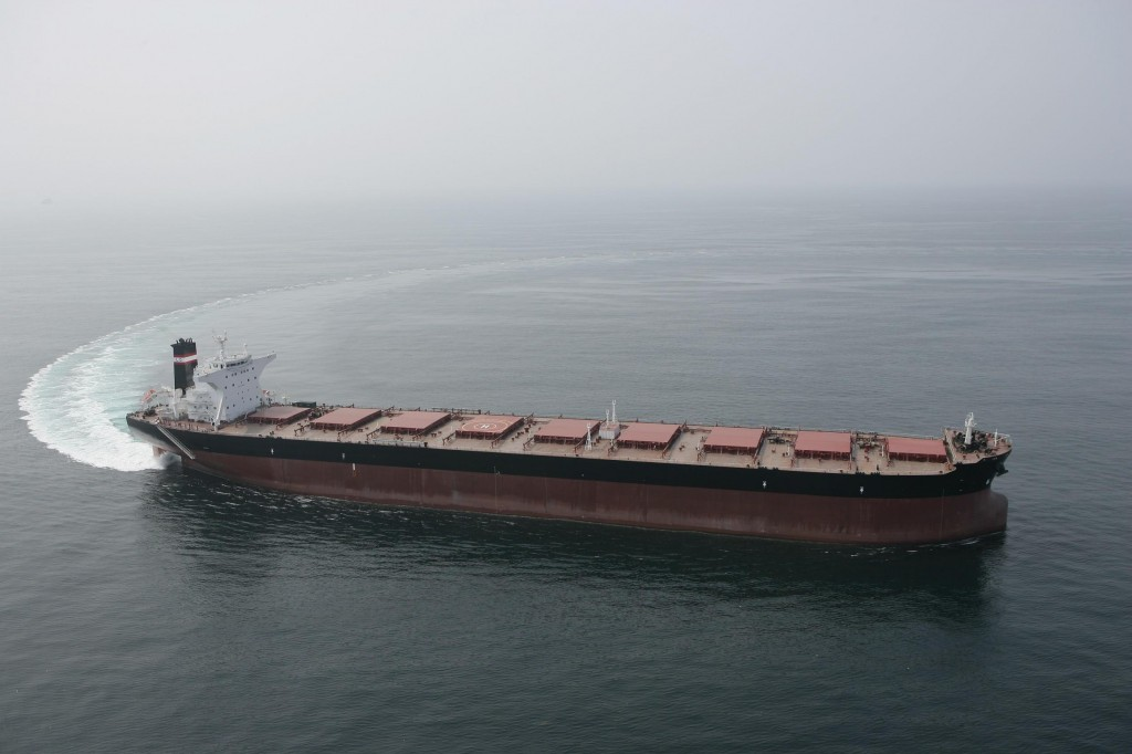 9 ספנות (מחסני ענק) באוניית צובר